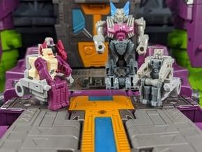 TF Titans Return POTP 5mm Command Seat in White Natural Versatile Plastic