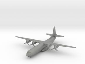 C-133 w/Gear (CW) in Gray PA12: 1:500