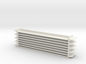 Grocery Shelf 1/56 in White Natural Versatile Plastic