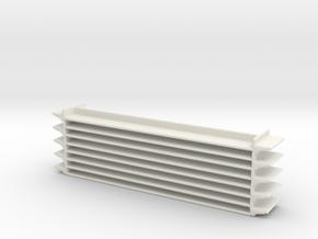 Grocery Shelf 1/24 in White Natural Versatile Plastic