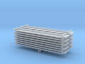 Grocery Shelf (x2) 1/160 in Smooth Fine Detail Plastic