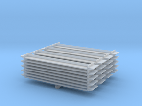 Grocery Shelf (x4) 1/200 in Smooth Fine Detail Plastic