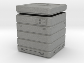 Imperial Crate 4 (2 parts) in Gray PA12