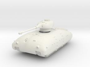 Panzer X 1/87 in White Natural Versatile Plastic