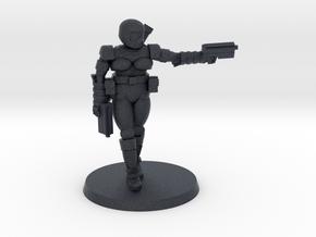 36mm Female Combat Armor 2 in Black PA12