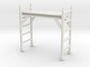 Scaffolding Unit 1/56 in White Natural Versatile Plastic