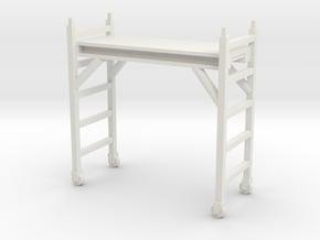 Scaffolding Unit 1/35 in White Natural Versatile Plastic