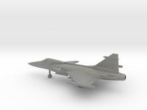 Saab JAS.39C Gripen in Gray PA12: 1:200