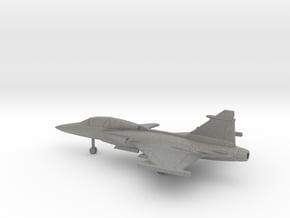 Saab JAS.39D Gripen in Gray PA12: 1:200