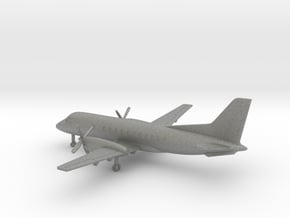Saab 340 A in Gray PA12: 6mm