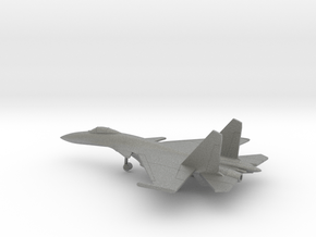 Sukhoi Su-33 Flanker-D in Gray PA12: 6mm