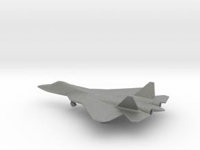Sukhoi Su-57 PAK FA in Gray PA12: 1:200