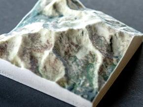 Mt. Massive, Colorado, USA, 1:50000 in Natural Full Color Sandstone