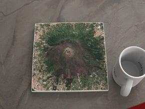 Mt. Vesuvius, Italy, 1:50000 in Natural Full Color Sandstone