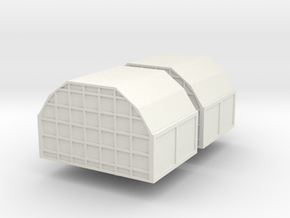 AAA Air Cargo Container (x2) 1/200 in White Natural Versatile Plastic