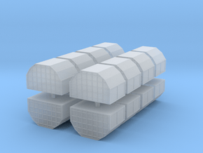 AAA Air Cargo Container (x16) 1/400 in Smooth Fine Detail Plastic