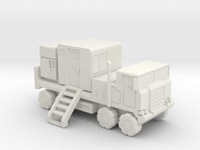 Pershing 1-A PTS/PS Truck - 1:285 scale, With back in White Natural Versatile Plastic