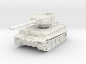 Tiger I mid 1/144 in White Natural Versatile Plastic