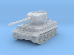 Tiger I mid 1/200 in Smooth Fine Detail Plastic