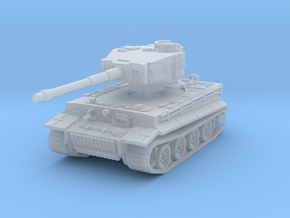Tiger I mid 1/285 in Smooth Fine Detail Plastic