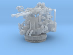 1/96 USN 40mm Bofors Twin Mount in Smooth Fine Detail Plastic