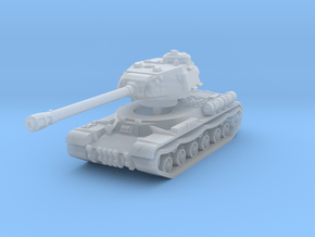IS-2 mod. 1943 1/200 in Smooth Fine Detail Plastic