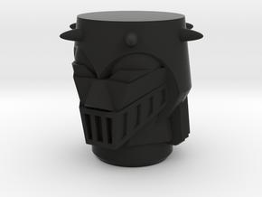 Baron Karza Magno Head in Black Natural Versatile Plastic