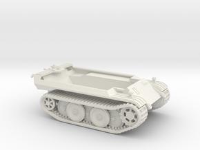 1/72 VK 16.02 Hull & Tracks in White Natural Versatile Plastic