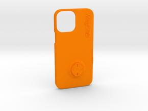 iPhone 12 Pro Max Wahoo Mount Case in Orange Processed Versatile Plastic