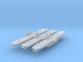 USS Midway (Axis & Allies) in Smooth Fine Detail Plastic