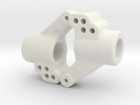 C1 C2 Dyna Blaster / Dyna Storm / TR-15T rear hubs in White Natural Versatile Plastic