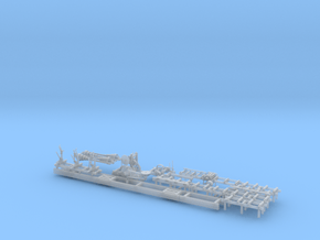 Sawmill Complete 1-64 from 1-87 in Smooth Fine Detail Plastic