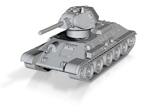 T-34-76 1941 fact. 183 late 1/144 in Smooth Fine Detail Plastic