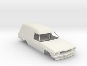 1:24 HQ Holden Sandman in White Natural Versatile Plastic