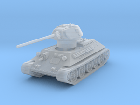T-34-57 1941 fact. 183 late 1/144 in Smooth Fine Detail Plastic