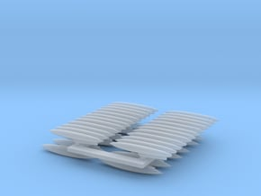 1:350 Scale F-4 Drop Tanks on Pylons in Smoothest Fine Detail Plastic