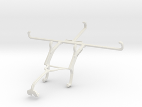 Controller mount for Xbox 360 & TECNO Spark 6 in White Natural Versatile Plastic