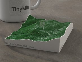 Mt. Colden, New York, USA, 1:25000 in Natural Full Color Sandstone