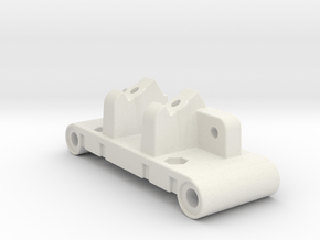 D5 Dyna Blaster / Dyna Storm / TR-15T bulkhead in White Natural Versatile Plastic
