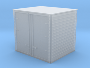 1/87th Vintage Drom Cargo Box 9 foot in Smooth Fine Detail Plastic