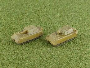 Porsche Type 205 Maus Tank Variants 2 1/285 in Smooth Fine Detail Plastic