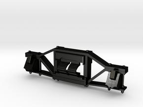 1:20.3 RGS #20 tender truck sideframe in Matte Black Steel