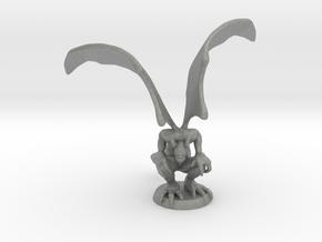 Gargoyle miniature model for fantasy games dnd rpg in Gray PA12