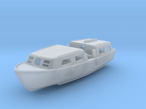 Lifeboat Motor Tender Boat 1/200 in Smooth Fine Detail Plastic
