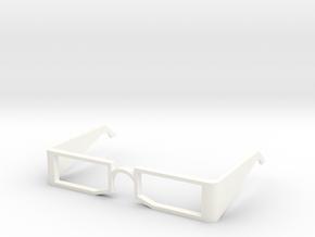 glasses in White Processed Versatile Plastic