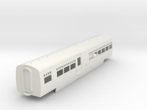 0-100-lms-artic-railcar-centre-coach1 in White Natural Versatile Plastic