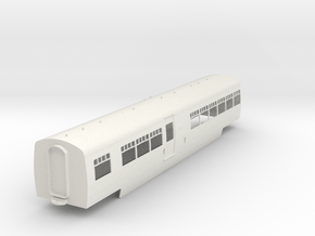0-43-lms-artic-railcar-centre-coach1 in White Natural Versatile Plastic