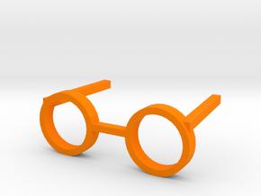 SUN GLASSES in Orange Processed Versatile Plastic