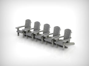 Chair 14. 1:35 Scale  in White Natural Versatile Plastic