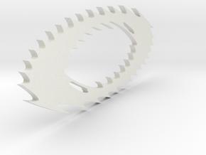 Oakley Static Icon in White Natural Versatile Plastic
